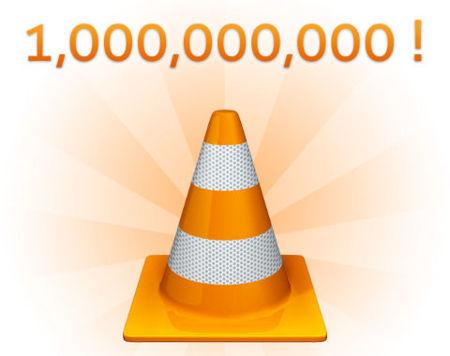 VLC, 1000 millones de descargas