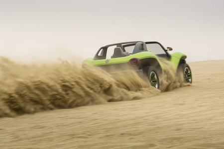 Volkswagen ID. Buggy demuestra por primera vez todas sus capacidades en Pebble Beach