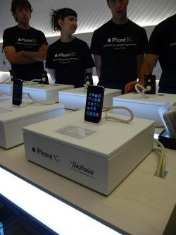 Presentación del iPhone 3G por Telefónica