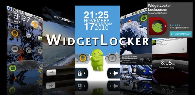 Widget Locker Header