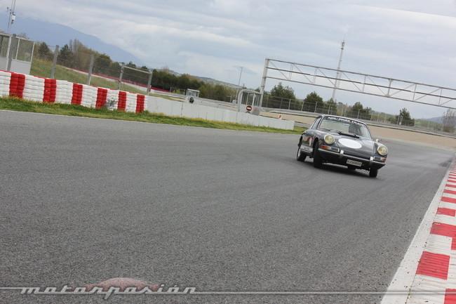 Espíritu de Montjuïc 2013, Porsche 911 en pista