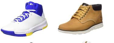 Chollos en tallas sueltas de zapatillas y botas de marcas como Under Armour, Saucony, Timberland o Skechers en Amazon