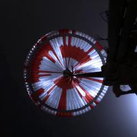 La NASA puso un mensaje oculto en el paracaídas del rover Perseverance en su llegada a Marte y la gente en internet lo descifró
