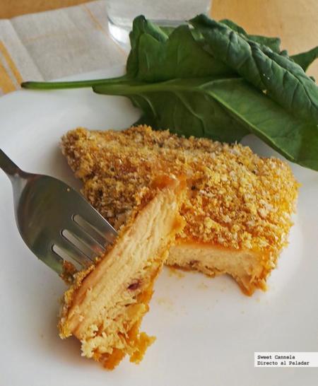 Pollo empanizado con hierba limón estilo oriental. Receta