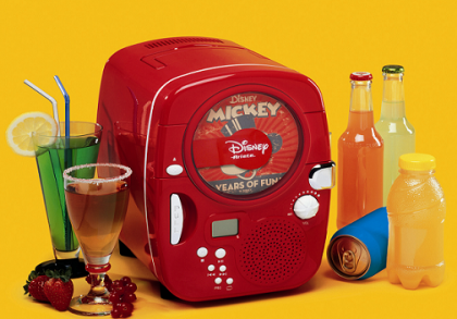 Mini Nevera y CD Disney