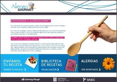 """Alergo Gourmet recetas """"sin"""" alergias"""