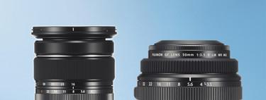 Fujinon XF 16-80mm F4 R OIS WR y GF 50mm F3.5 R LM WR, nuevas ópticas de la firma para cámaras sin espejo y de formato medio