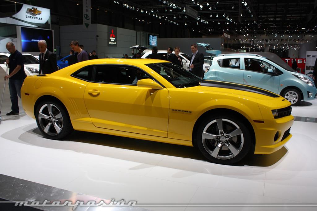 Foto de Chevrolet Camaro en el Salón de Ginebra 2010 (11/12)