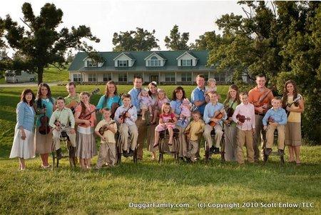 La familia más numerosa de EE.UU. espera a su vigésimo hijo