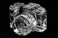 Réplicas de cámaras en cristal