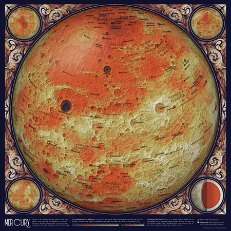 Un mapa topográfico de Mercurio | Eleanor Lutz - Tabletop Whale