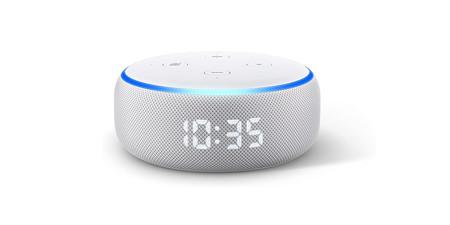 Echo Dot Reloj