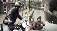 Dos ruedas frente a tres ruedas, extraña prueba holandesa