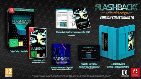 Flashback 25th Anniversary llegará a Switch en junio junto a esta espectacular edición de coleccionista (Actualizado)