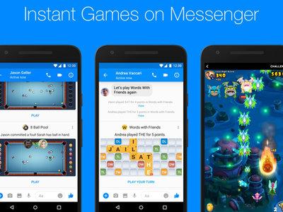 Estos son algunos de los juegos más adictivos de Instant Games de Facebook Messenger