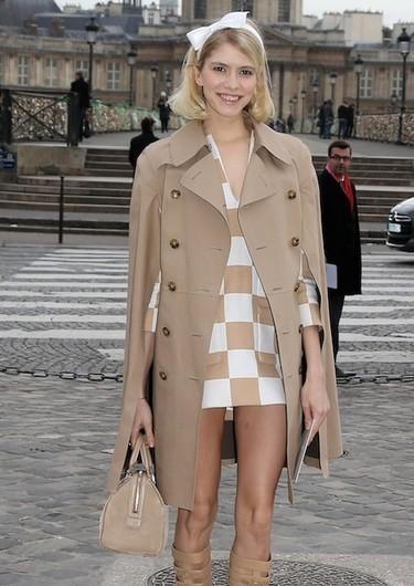 Se gustan, se quieren: las celebrities lucen modelitos en los front row de París