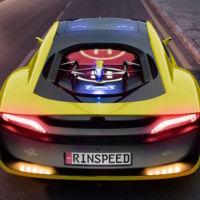 Rinspeed desvela los detalles de su increíble prototipo de coche autónomo con drone incluido