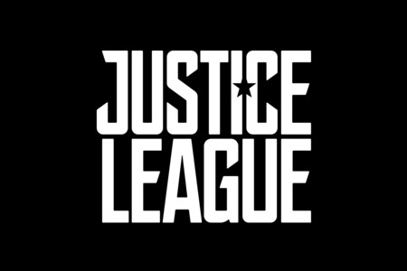 Logo negro de Justice League