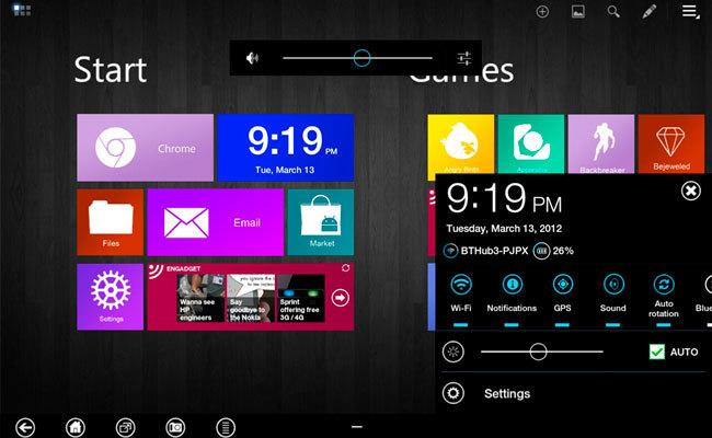 Metro UI Samsung Galaxy Tab