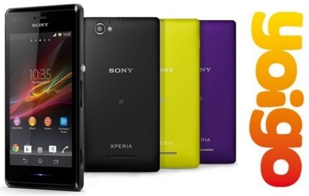 Precios Sony Xperia M con Yoigo y comparativa con la competencia