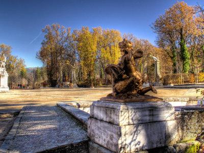 Citas para fotografiar el otoño: jardines reales de La Granja de San Ildefonso, Segovia