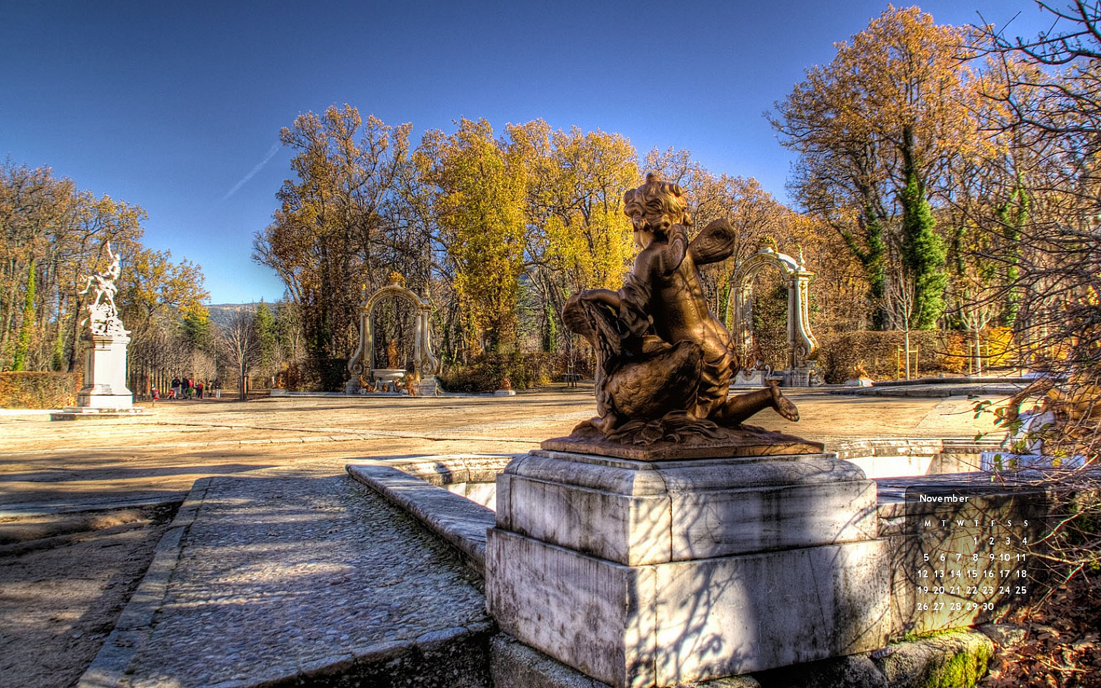 Citas para fotografiar el oto o jardines reales de la for Jardines de san ildefonso