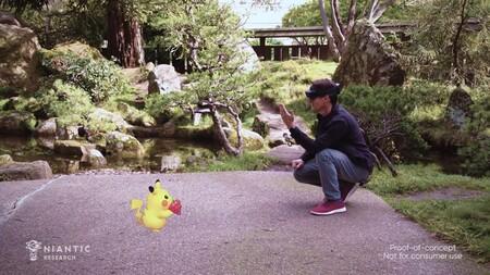 Así se vería Pokémon GO en el mundo real con HoloLens 2, las gafas de realidad aumentada de Microsoft