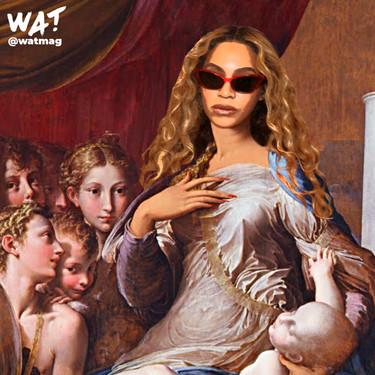 De Rosalía a Beyoncé: 7 divas del pop fusionadas con cuadros de pintores renacentistas