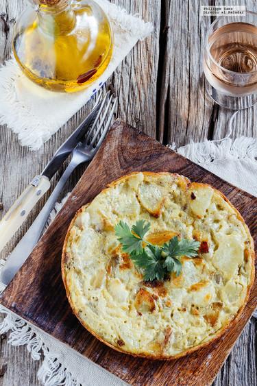 Cómo hacer una tortilla de patatas a la española