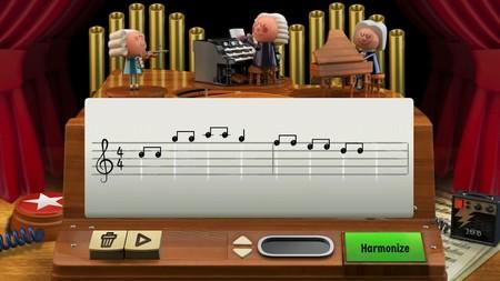 El doodle de Google sobre Bach te permite crear tus propias armonías y sentirte Altozano por un día
