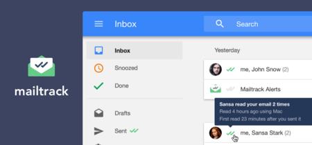 El doble check de Mailtrack llega a Inbox para que sepas si tus correos han sido leídos