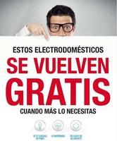 Los electrodomésticos de New Pol e Hitachi, gratis si te quedas en paro
