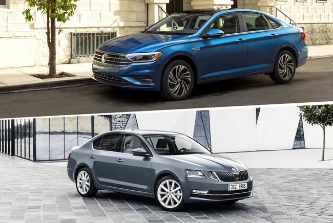El Volkswagen Jetta no es muy distinto al Škoda Octavia si los miras con atención