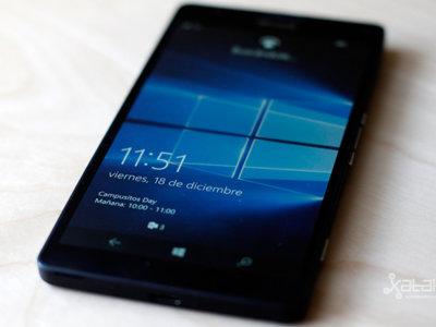 Llega la Build 10586.107 para el Lumia 950 de la mano de AT&T