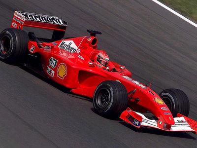 Una joya en perfecto estado. Sale a subasta el F2001 Campeón del Mundo de Michael Schumacher