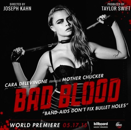 Cara Delevingne In Bad Blood