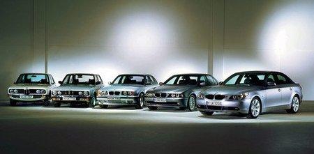 BMW Serie 5 generaciones