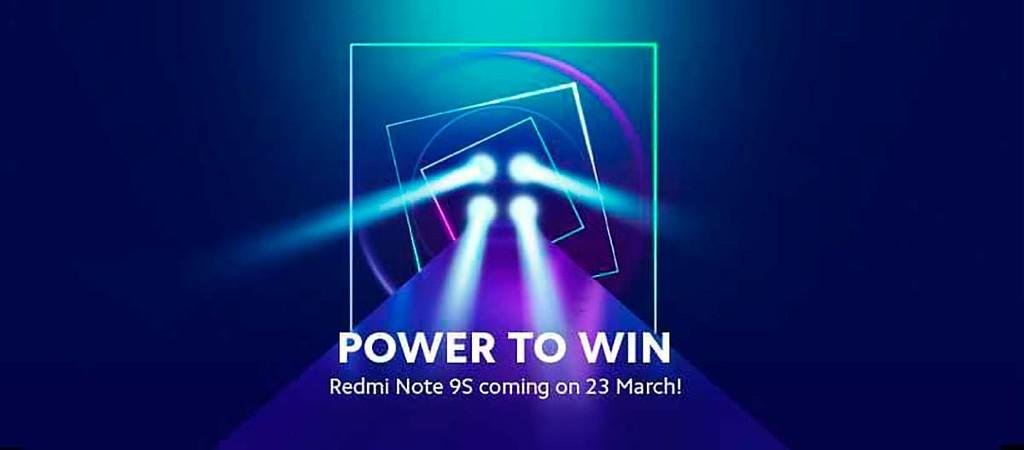 Xiaomi irá apresentar o Redmi Note 9S a nível mundial no dia 23 de março