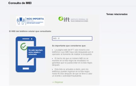 Consulta Imei Ift Mexico