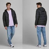 ¿Buscas un abrigo barato? el Jjemagic Puffer de Jack & Jones en color negro está rebajado a 28,99 euros en Amazon en todas sus tallas