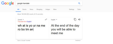 Google Translate Esta Poseido