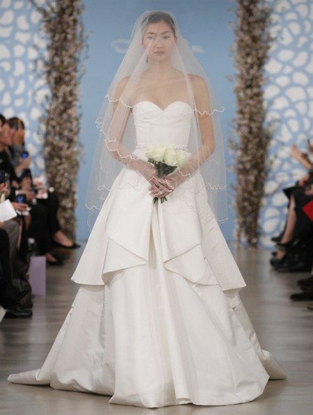 Oscar de la Renta moda novias 2014