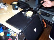 Cocina con tu MacBook