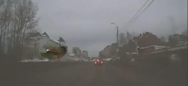 Coche volador en Rusia