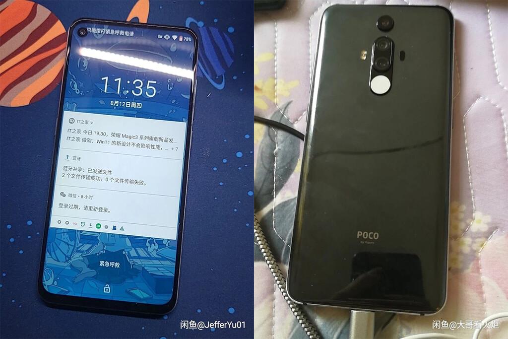 El POCO F2 que nunca fue sale a luz en un prototipo: Snapdragon 855, pantalla perforada y el diseño del Xiaomi Mi 9T