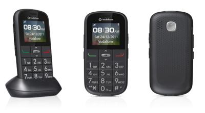 Nuevo Vodafone 155 Simplicity, un teléfono para mayores con servicios activos incluidos