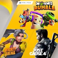 Worms Rumble, Just Cause 4 y Rocket Arena entre los juegos de PlayStation Plus de diciembre de 2020