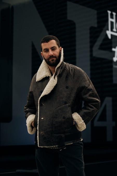 El Mejor Street Style De La Semana Chaqueta Abrigo Borreguillo Shearling Jacket 05