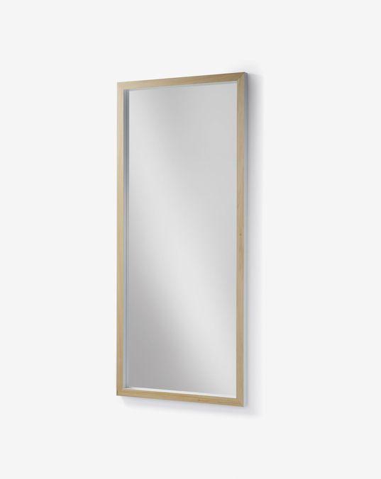 Espejo Enzo 78 x 178 cm blanco