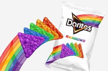 Doritos Rainbows, la edición limitada que llamará tu atención